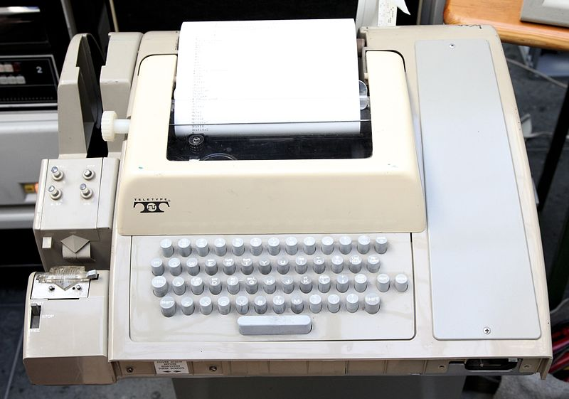 The 'original' teletype hardware
